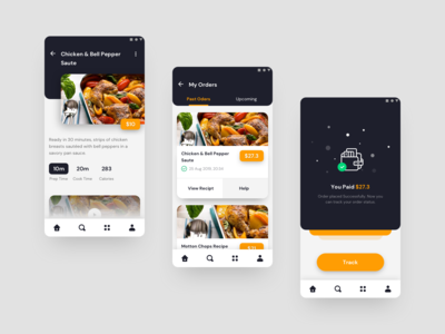 Xorioh - Mobile App Design