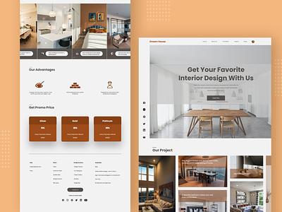 Web Interior home design home inspration web interior interior web design ui