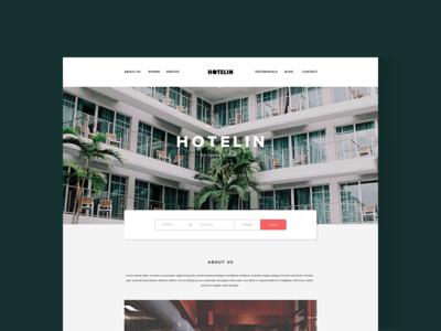Hotelin - Free Psd Website