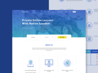 Online Course Homepage