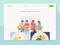 Pawon Homepage - Exploration Design
