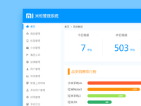 XIAOMI Counter Management System