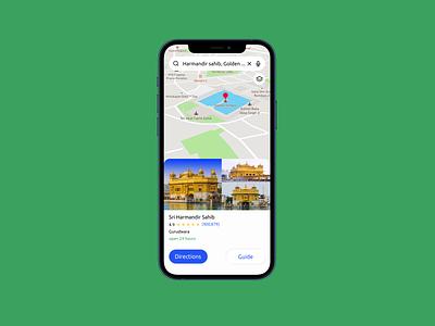 Daily UI:29- Map ui dailyui