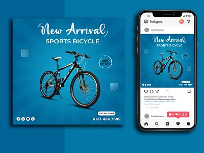Cycle Salad Social Media Post/Banner Design