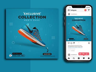 Shoe Social Media Post/Banner Design