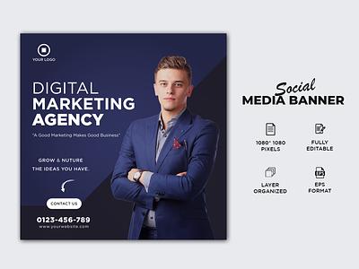 Corporate Social Media Post/Banner Design