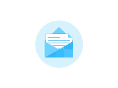 Flat envelope