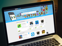 Appszoom homepage redesign