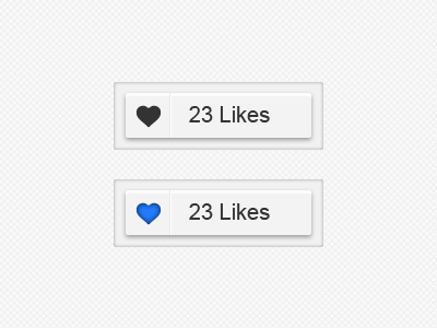 Like buttons like button buttons clean grey texture ui