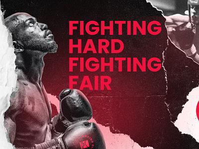 Boxing Glove Branding fight sport boxing design icon branding logo