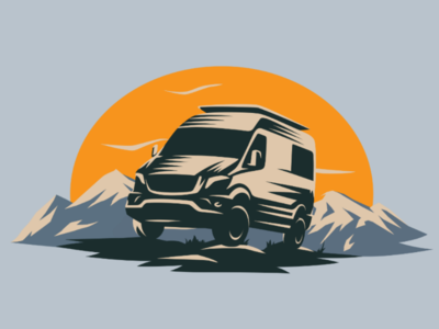 Car Camping Illustration