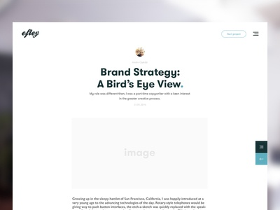 Blog post layout clean web post white minimalistic creative article blog