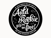 Auld Reekie Roller Girls Roller Derby - T-shirt design