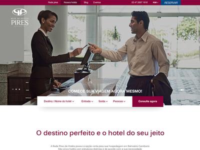 Hotel Redepires website