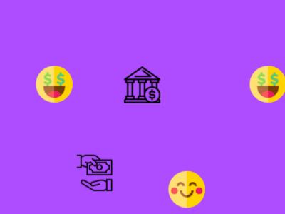 Happy Monie logo design animation