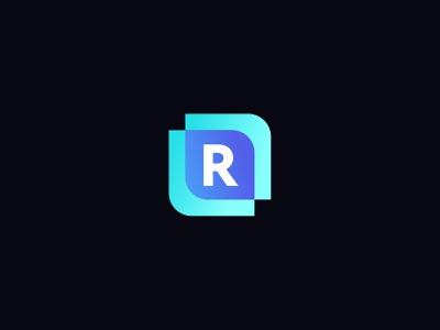 Reimer Digital Logo Icon graphic design branding icon logo