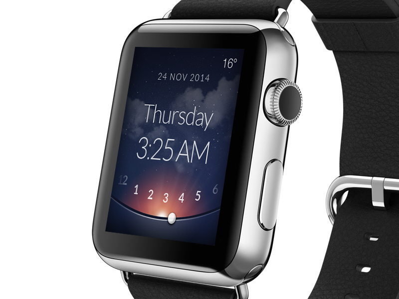 Apple watch clock apple watch clock time weather