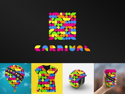 Carnival design logodesign graphicdesign vector identity branding artistic direction logos kaiserinside logo