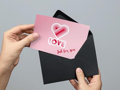 Love illustration mockup vector branding identity logos logodesign graphicdesign kaiserinside logo