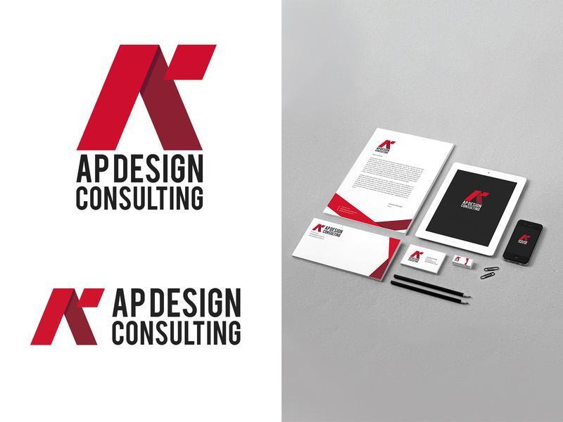 AP Design Consulting mockup graphicdesign logodesign designthinking vector artistic direction branding identity kaiserinside logo