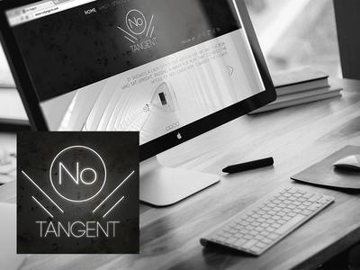 Notangent minimalism gallery art artistic direction identity logo website web design webdesign