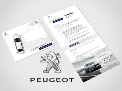 Peugeot - Mailing  art direction art graphic print design print graphicdesign kaiserinside
