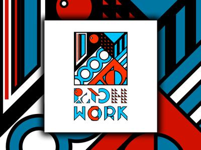 Patchwork Logo. (Branding) mockup logos logodesign logo kaiserinside graphicdesign designthinking design