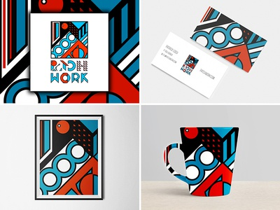 Patchwork Logo. (Branding) Mockups mockup logos logodesign logo kaiserinside graphicdesign designthinking design