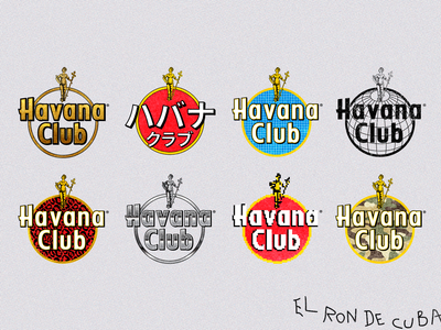 Havana Club Logo Twists