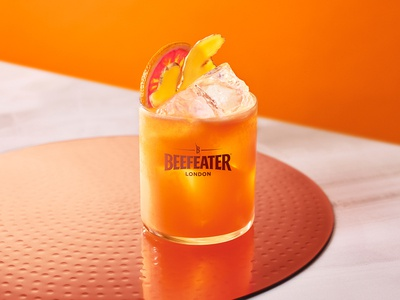Beefeater Gin - Carrot Citrus Crush