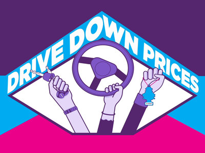 Drive down prices