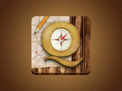 Questing app icon ios questing icon app