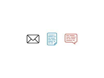 Message icons txt message icons