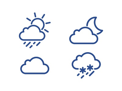 Weather icons pack inline icons icon weather