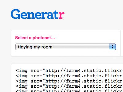 Generatr 01 webapp archer