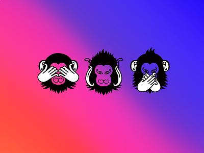 monk3ys logo logo