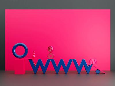 www. logo design render 3d