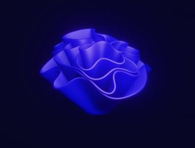 Abstract 3D Artwork Made with ❤️ in Blender blender design wallpaper render 3d