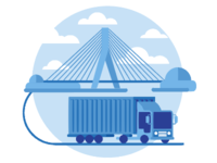 Bridge & Truck
