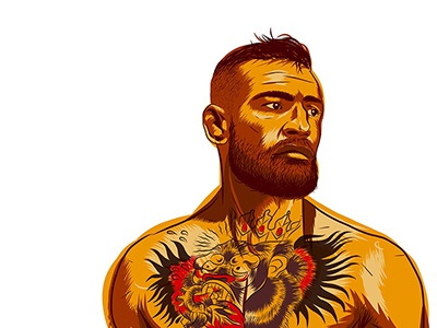 "Conor Mcgregor ""The Notorious"" Illustration"