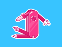 Dribbble Swiss Knife For Playoff