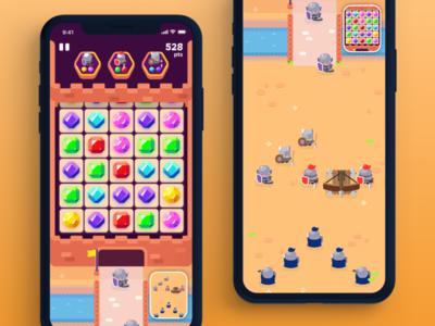 Bastille Game Interface