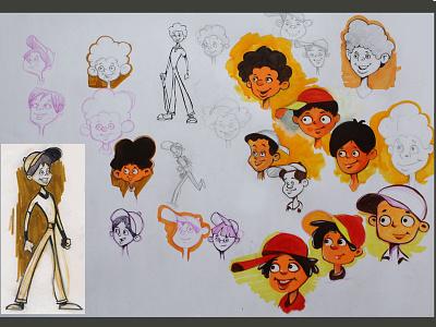 character design 03 doodle sketch art test drawing design illustration