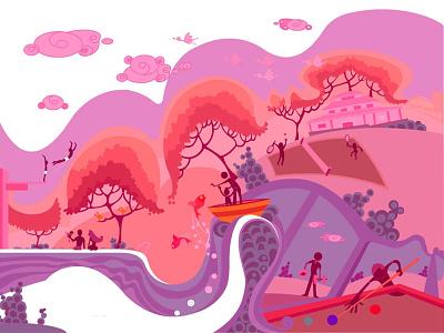 illustration vector test drawing sketch illustration concept