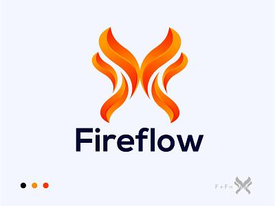 Fireflow logo design business company logo agency fire icon fire logo logoinspirations logodesigner app icon logotype minimal software logo logo design illustration branding creative colourful logo best logo logo mark graphic design