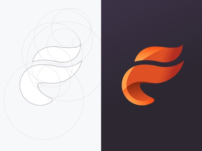 Faccenda Logo identity logo typography lettering geometry