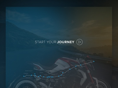 Mv Agusta WIP wip design road trip journey map motor cycle motor bike