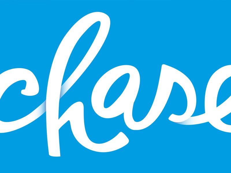 Chase Logo script logo branding logotype type lettering typography