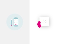 Blog Icon Redesign blog svg redesign minimal icon clean animated brand simple