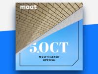 MAAT's Grand Opening